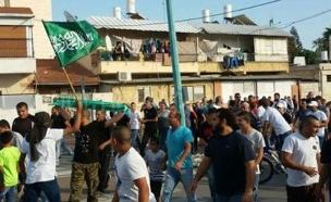 """""""השבתה - כבר לא אמצעי יעיל"""", הפגנת הזעם בנצרת (צילום: Yaffa48.com)"""