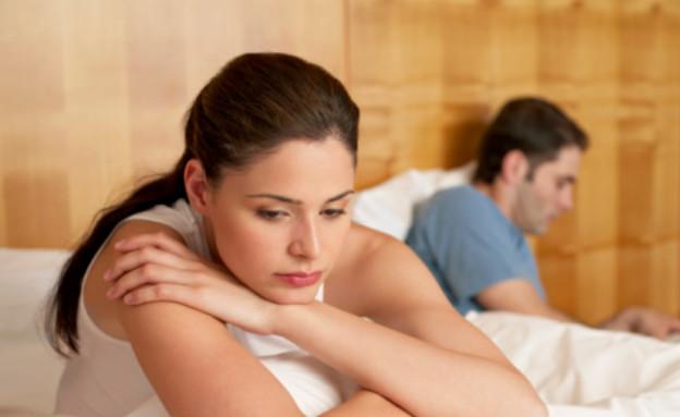 זוג במיטה - אישה מתוסכלת (צילום: אימג'בנק / Thinkstock)