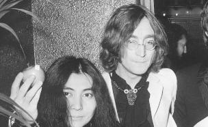 יוקו אונו וג'ון לנון (צילום: Larry Ellis, GettyImages IL)
