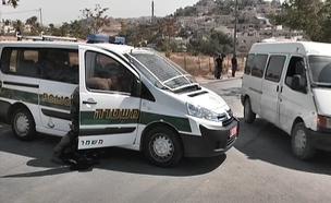 מחסום נושם בג'בל מוכבר (צילום: חדשות 2)