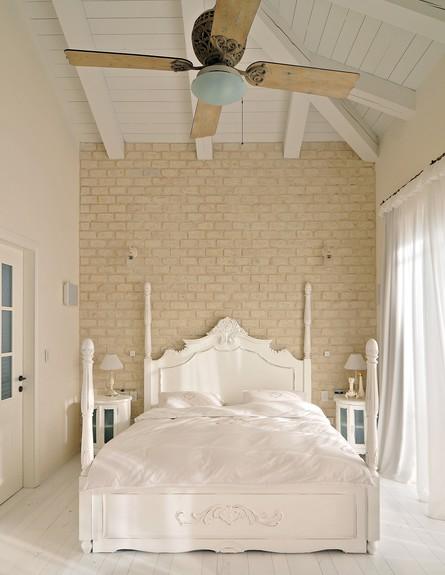 עיצוב חדר שינה, שירלי דן, סגנון אחיד. (צילום: גלעד רדט)