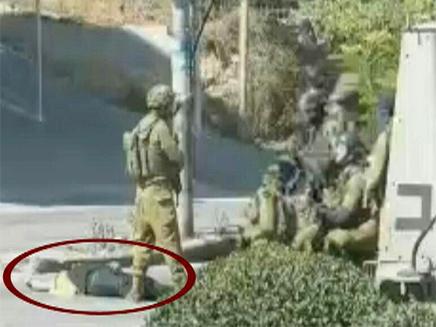 הלוחמים הגיבו בירי לעבר המחבל