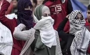 כוח נשי: הפלסטיניות שבחזית המאבק (צילום: התקשורת הערבית)