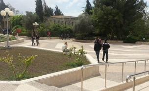 האוניברסיטה העברית (ארכיון) (צילום: יוסי זילברמן, חדשות 2)