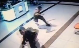 פיגוע ירי בבאר שבע (צילום: חדשות 2)