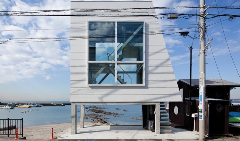 בית החלונות (צילום: Yasutaka Yoshimura)