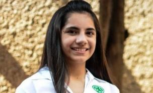 דפני אלמזאן (צילום: twitter, מעריב לנוער)