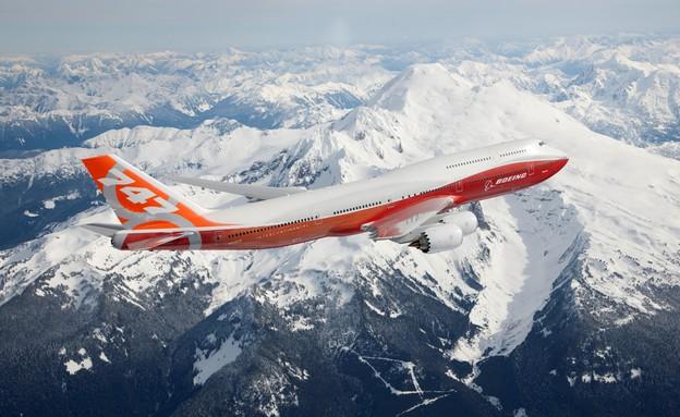 בואינג 747-8 בטיסה ראשונה (צילום: האתר הרשמי)