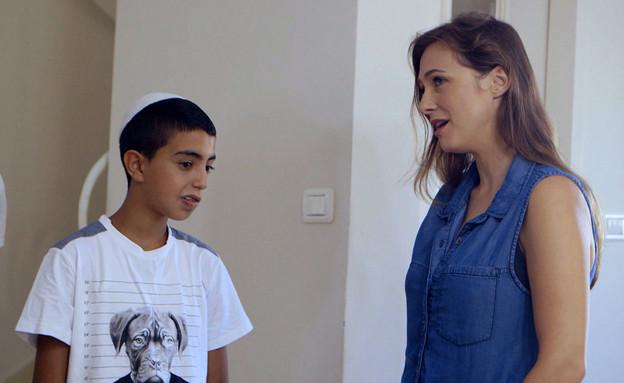 גלעד יחיא פוגש את המורה (צילום: מתוך בית ספר למוזיקה, שידורי קשת)
