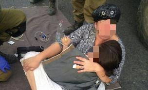 """פיגוע בקת""""ב ליד בית אל (צילום: חדשות 2)"""