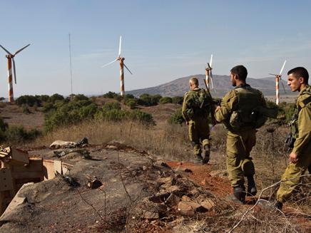חיילים באזור הגבול, ארכיון (צילום: רויטרס)