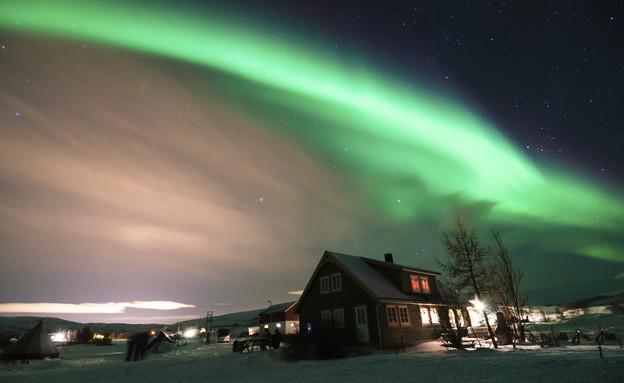 אורות הקוטב הצפוני (צילום: אימג'בנק / Thinkstock)