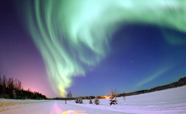זוהר הקוטב (צילום: Zarex, wikipedia)