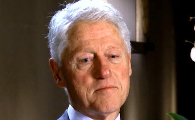 ביל קלינטון על רצח רבין (צילום: מתוך עובדה, שידורי קשת)