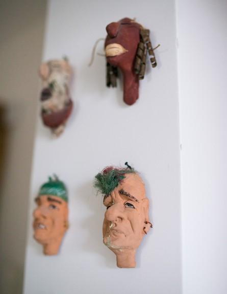 רחל ורשבסקי, פסלים (2) (צילום: נטלי שור)