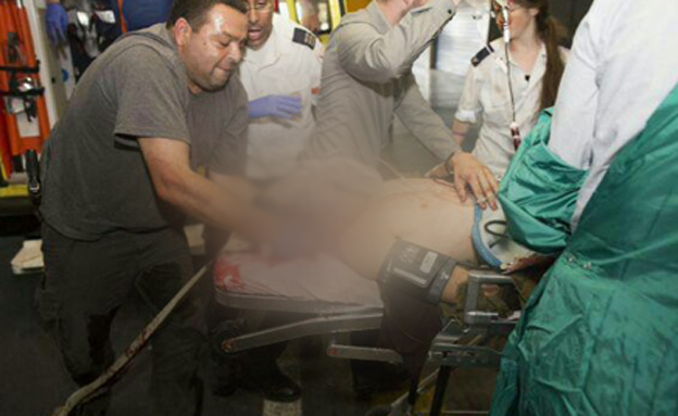 הפינוי לבית החולים הציל חיים (צילום: ללא קרדיט)