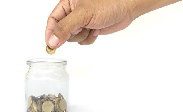 צנצנת מטבעות (צילום: Thinkstock)