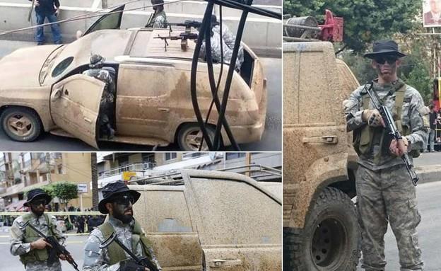 יחידת האבטחה של נסראללה (צילום: אינטלי טיימס – מודיעין חדשותי)