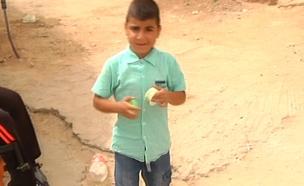 ילד בדואי זכה למימון תרופות (צילום: חדשות 2)