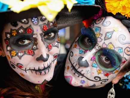 יום המתים מקסיקו (צילום: Chris Jackson, GettyImages IL)