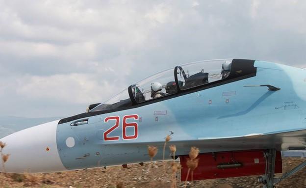 Pilotes de Sukhoi 30 minutes avant le décollage (Photo: ministère russe de la Défense)
