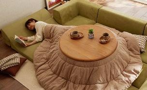 מיטה יפנית,  (צילום: Belle Maison )