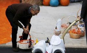 ליל כל הקדושים בבית הלבן (צילום: חדשות 2)