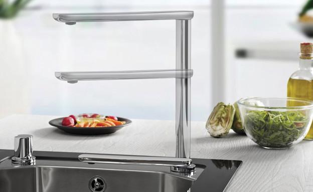 ברזים 22, ג, סדרת ברזי מטבח הפועלים בטכנולוגיה ייחודית מתכווננת,  (צילום: יחצ TEKA)