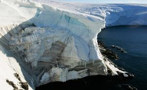 ליבות הקרח עברו עיבוי (צילום: רויטרס)