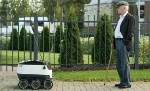 רובוט המשלוחים Starship (צילום: מתוך אתר Starship)
