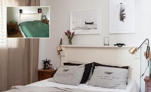 פרויקט גמר, נורית כהן אלירז, חדר שינה (צילום: הגר דופלט)