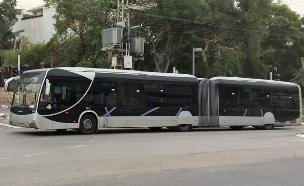 האוטובוס החדש של דן, קו 1, קו 189, BRT, תוצרת MAN (צילום: יאיר מור, NEXTER)