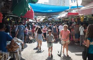 שוק הכרמל (צילום: נמרוד סונדרס)