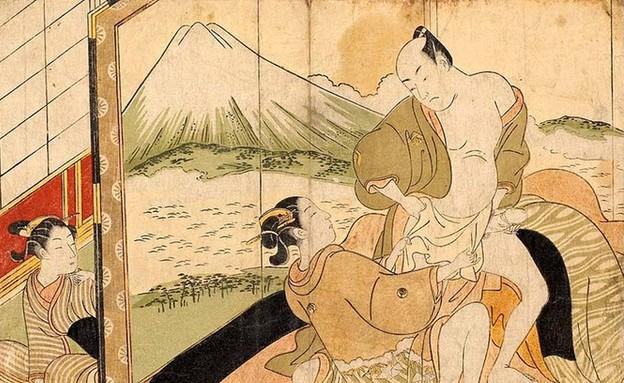 הפין הגברי ביפן העתיקה (צילום: ויקיפדיה)