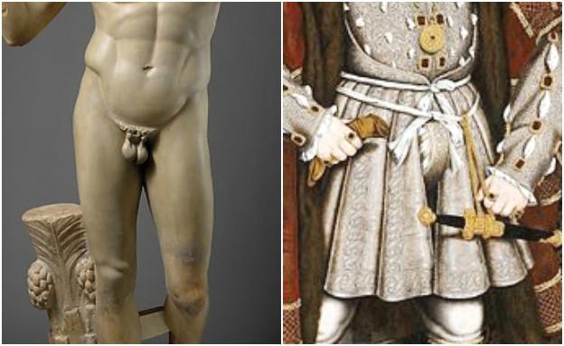הפין הגברי לאורך ההיסטוריה (צילום: ויקיפדיה)