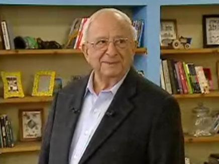 """הנשיא החמישי יצחק נבון (צילום: מתוך """"לומדים ביחד"""" שידורי קשת)"""