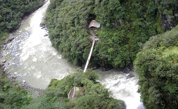 נהר ריו ורדה בבוליביה, ארכיון