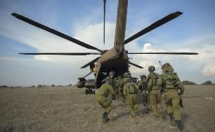 """גדוד רם בתרגיל מוסק (צילום: דובר צה""""ל, באדיבות גרעיני החיילים)"""