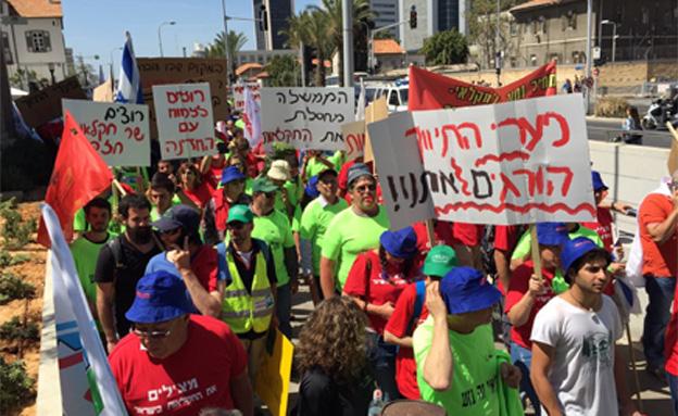 גם החקלאים יעלו לירושלים (צילום: דביר וולצר, חדשות 2)