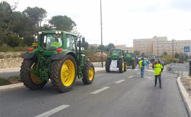 מחאת החקלאים, היום
