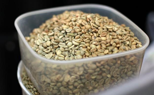 טבעון קפה אנין פולים ירוקים (צילום: ג'רמי יפה, אוכל טוב)
