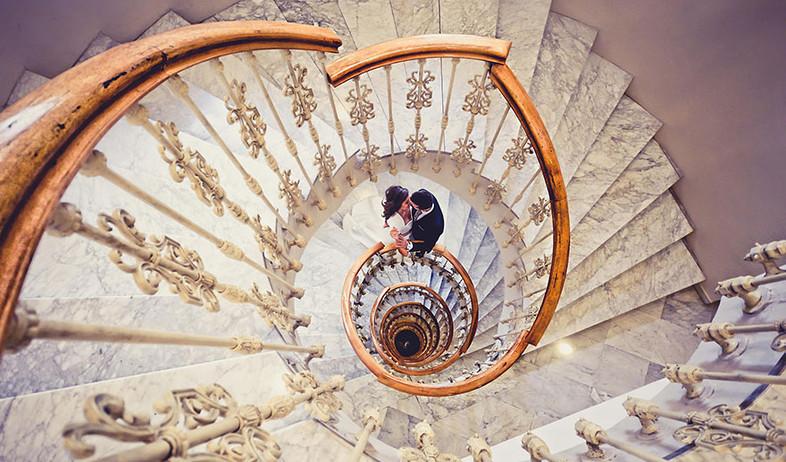 מדרגות ספירלה (צילום: Javier Sanchez)