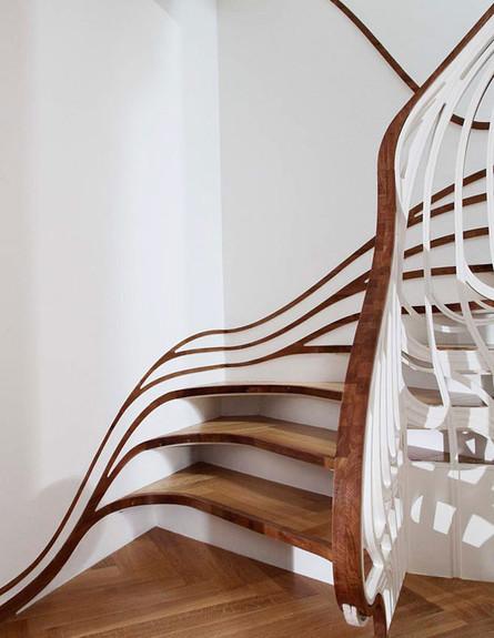 מדרגות מיוחדות 17, מדרגות חושניות בעיצוב Atmos Studio (צילום: Atmos)