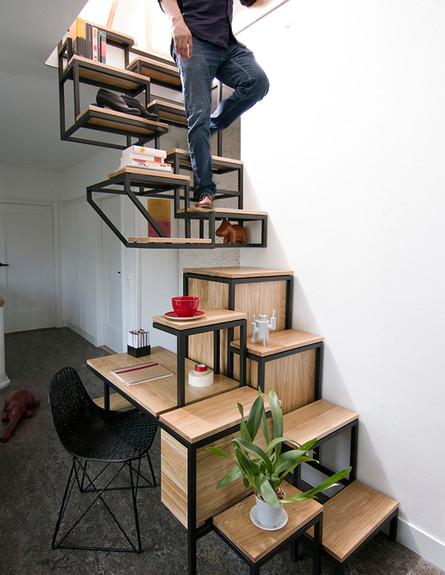 מדרגות מיוחדות 17, מדרגות עבודה בעיצוב Studio Mieke Meijer (צילום: Studio Mieke Meijer)