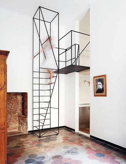 מדרגות מיוחדות 18, מדרגות מטאליות בעיצוב Francesco Librizzi (צילום: Francesco Librizzi)