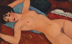 ציור עירום מודליאני
