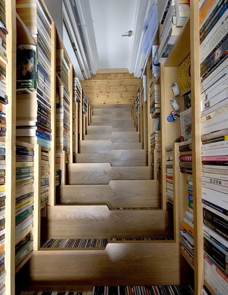 מדרגות מיוחדות 08, ג, מדרגות ספרייה בעיצוב Levitate Architects (צילום: Levitate Architects)