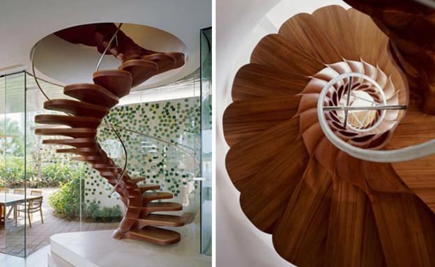 מדרגות מיוחדות 09, מדרגות עלי כותרת בעיצוב Patrick Jouin (צילום: Patrick Jouin)