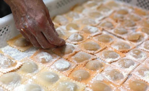 טבעון טאנטי באצ'י רביולי (צילום: ג'רמי יפה, אוכל טוב)