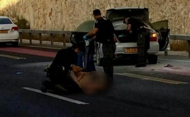 מעצר המחבלת לאחר התקיפה